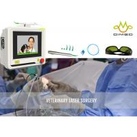 China Touch Screen Non Toxic Veterinary Laser Equipment Laser Surgery Speeds Healing wholesale