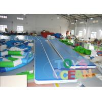 China Adult Inflatable Tumble Track Inflatable Air Track Mats For Indoor Sport Game wholesale