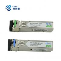 Buy cheap OEM manufacturer single-mode 1310Tx/1550Rx 1.25G 20km BiDi SFP Optical Module from wholesalers
