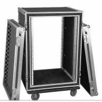 China Aluminum 10U Rack Flight Case For Travel , Guitar Flight Cases wholesale
