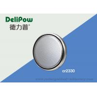 China Eco Friendly CR2330 Battery Button Cell Max Dimension 20.0*3.2mm wholesale