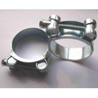 China Heavy Duty High Pressure Hose Clamps Stainless Steel 22mm / 24mm Width W2 on sale