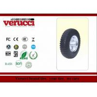 China 4.00 - 8 14 Inch Rubber Tyred Wheels / Small pneumatic wheel  For Trolleys wholesale