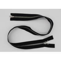 Buy cheap Black 5 Inch Non - Lock Sliders Two Way Metal Zip For Coveralls / Traveling Bag from wholesalers