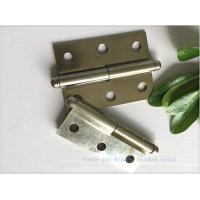 China Ball Tip Nickel Plated Commercial Door Hinges Detachable Movable wholesale