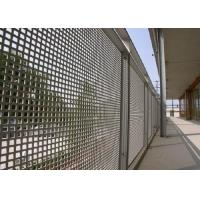 China Round Hole Perforated Mesh Sheet Anti Corrosion 1050 Perforated Metal Panels wholesale