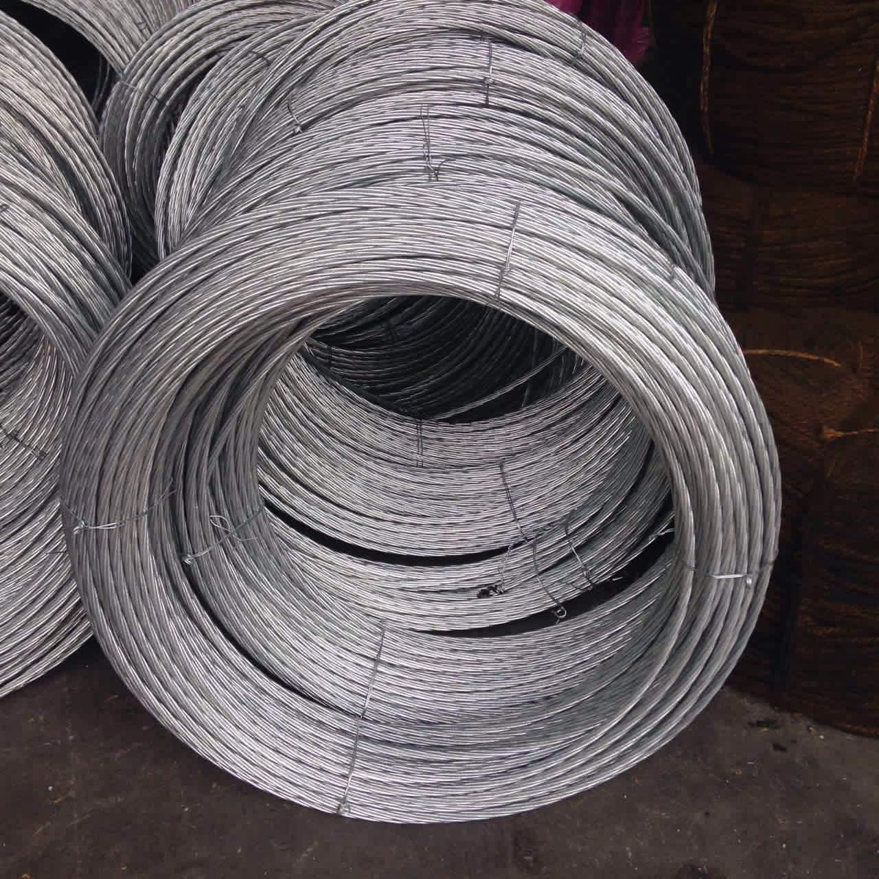 Galvanized Steel Wire Strand for Stay wire as per BS 183 ...