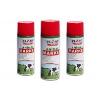 China Harmless Colorful Animal Safe Spray Paint Distinguish Between Sheep / Pig / Cattle wholesale