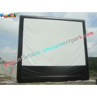 China Large Inflatable Projection Screen Outdoor Movie Theater For Christmas Decorations wholesale