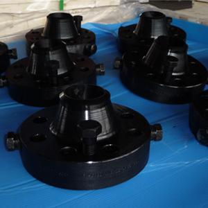 China ANSI B16.36 Black Orifice WN Flange, RF, SCH 80 wholesale