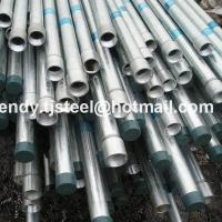China Building Materials Hot dip galvanized pipe/mild steel pipe in stock 8 inch on sale