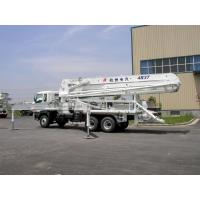 Quality High Reliability ISUZU 5R47M Truck-mounted Concrete Pump Truck 455Hp for sale