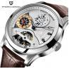 Buy cheap Pagani Design Men Lather Band Waterproof Multifunction Automatic mechanical wristwatch from wholesalers