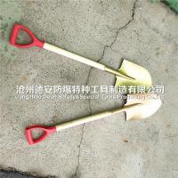 Buy cheap brass spade ,non sparking shovel ,with wooden handle from wholesalers