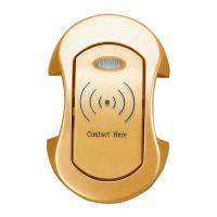 China Gold RFID Electronic Card Cabinet / Card Lock for Sauna Bathroom SPA Room wholesale