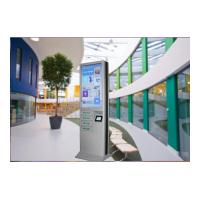 China 4 Cell Phone Charging Lockers 43 Inch Advertising Digital Signage Floor Stand wholesale