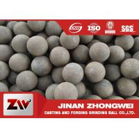 China Mineral used forged steel balls B2 B3 60mn material HRC 55-65 wholesale