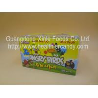 China Angry Bird 11g Low Calorie Candy Bar Mix Fruit CC Chubby Stick Curvy Candy wholesale