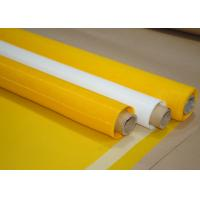 China Electronics Printing Polyester Screen Mesh NSF Test With Monofilament Materials wholesale