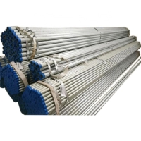 China Hot Dip Galvanized Round Steel Pipe / GI Pipe Pre Galvanized Steel Pipe Galvanized Tube For Construction on sale