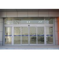 Quality Silver Sliding Entrance Door / Automatic Storefront Doors With Touch Switch for sale