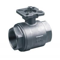 China 2PC ISO 5211 Cast Steel Ball Valve Easy Operated With Direct Mounting Pad wholesale