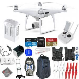 China DJI Phantom 4 Pro Quadcopter! NEW MODEL! MEGA Everything You Need Accessory Kit! wholesale