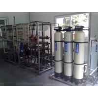 China Industrial Demineralized Ro Water Treatment System With Valve Group Control on sale