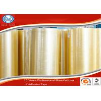 China Transparent BOPP Jumbo Roll , 2 inches and 900 Yard Wrapping Tape wholesale