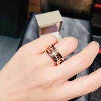 China Four Band  B Zero1 / Zaha Hadid Ring Rose Gold For Enterprise Banquet wholesale