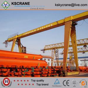 China High Performance Rail Mounted Single Girder Portal Crane With Limit Switch wholesale