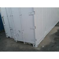 China White Second Hand High Cube Reefer Container  / 45 Hc Container wholesale