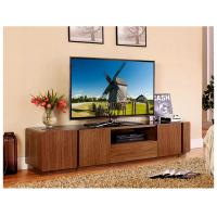 China Contemporary Wooden Television Stands With Drawers Wood Veneer Cabinet wholesale