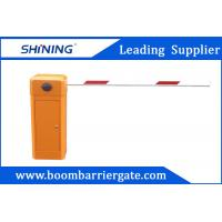 China 80W AC Motor Parking Lot Barrier Gate , Traffic Barrier Gate For Vehicle wholesale