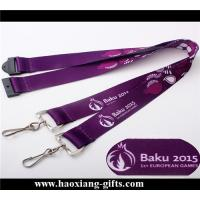 China 20*900mm factory direct price sublimation printing lanyard with metal buckle wholesale