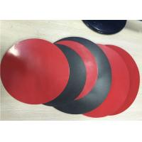 Quality 1.8mm Thick 3003 Aluminum Circle Sheet Red Teflone Coating 250mm Corrosion for sale