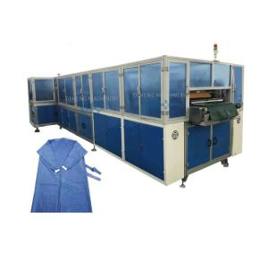 China Automatic Disposable Non Woven Surgical Apron Protective Clothing Making Machine wholesale