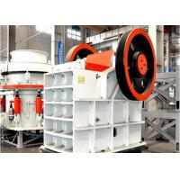 China Feldspar Crushing Jaw Stone Crusher Machine , Double Toggle Jaw Crusher wholesale