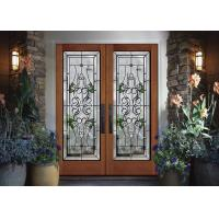 Buy cheap Easy Fingertip Opening Tempered Sliding Glass Door Surface 25.4 Mm Thickness Natural Light from wholesalers