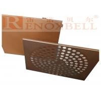 China Perforated Aluminum Panel Coated For Outdoor Wall Decoration wholesale