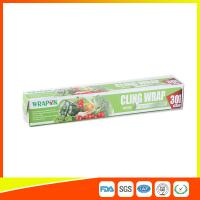 China Food Grade PE Food Packing Plastic Wrap , Stretch Wrap Film For Kitchen wholesale