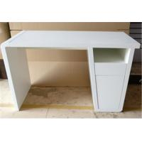 China Stable Modern Furniture Table Rectangular Computer Desk For Bedroom / Office wholesale