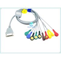 China Compatible Beneware ECG Patient Cable , 12 Lead ECG Cable With TPU Material wholesale