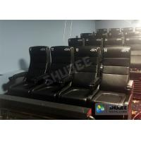 China Large Screen 4D Cinema System With Comfortable Pure Hand-Wrapped PU Leather Motion Seats wholesale