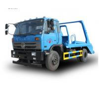 China Arm Roll Container Refuse Truck Mini Swing Arm Garbage Truck garbage collection truck large garbage truck on sale