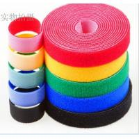 China 100% Nylon Hook And Loop faestener / Double sided hook and loop tape / Hook and loop cable ties wholesale