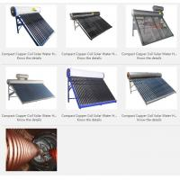 China Compact Copper Coil Solar Water Heater wholesale