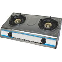 China ф 100 X 100 Light Iron Home Cooking 2 Kitchen Gas Burner Range JP-204E wholesale