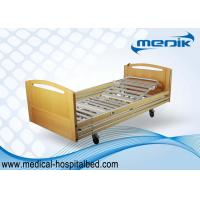 China Semi Automatic Home Care Beds , Mobile Full Electric Clinic Bed on sale