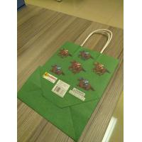China Custom design of kraft Paper Bags, Paper bags with twisted paper handle wholesale